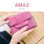 กระเป๋าสตางค์ผู้หญิง ขนาดกลาง รุ่น AMAZ สีม่วง thumbnail 2