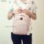 กระเป๋าเป้ผู้หญิง รุ่น AMAZ BAG สีดำ thumbnail 18