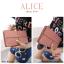 กระเป๋าสตางค์ผู้หญิง ทรงถุง กระเป๋าคลัทช์ สีชมพู รุ่น ALICE thumbnail 2