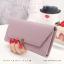 กระเป๋าสตางค์ผู้หญิง รุ่น LETTER สีชมพู thumbnail 21
