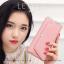 กระเป๋าสตางค์ผู้หญิง รุ่น LETTER สีชมพู thumbnail 3