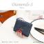 กระเป๋าสตางค์ผู้หญิง ใบสั้น รุ่น DIAMONDS-S สีดำ thumbnail 25