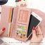 กระเป๋าสตางค์ผู้หญิง รุ่น LETTER สีชมพู thumbnail 6