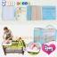 B10102 เตียงนอนเด็ก แบบน่ารัก สินค้าใหม่นำเข้าพร้อมชั้นวางที่เปลี่ยนผ้าอ้อม (A1สีฟ้า) thumbnail 5