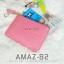 กระเป๋าสตางค์ผู้หญิง ทรงถุง รุ่น AMAZ-B2-L สีชมพูเข้ม thumbnail 1