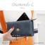 กระเป๋าสตางค์ผู้หญิง ใบยาว รุ่น DIAMONDS-L สีน้ำเงิน thumbnail 3