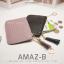 กระเป๋าสตางค์ผู้หญิง ทรงถุง รุ่น AMAZ-BL สีดำ thumbnail 7