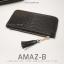 กระเป๋าสตางค์ผู้หญิง ทรงถุง รุ่น AMAZ-BL สีดำ thumbnail 1