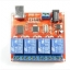 4-way control switch 12V computer USB drive free relay module PC Intelligent Controller thumbnail 5