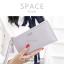 กระเป๋าสตางค์ผู้หญิง ทรงถุง รุ่น SPACE สีฟ้า thumbnail 17