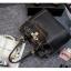 กระเป๋าหนังวัว ทรงขนมจีบ (Black) thumbnail 6