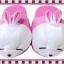 รองเท้าใส่ในบ้านOffice Mashimaro สีชมพู ขนาดความยาวรองเท้า 10นิ้ว ขนาด free size ส่งฟรี ems thumbnail 1