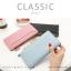 กระเป๋าสตางค์ผู้หญิง รุ่น CLASSIC สีชมพู thumbnail 25