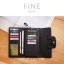 กระเป๋าสตางค์ผู้หญิง FINE สีเขียว thumbnail 13