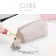 กระเป๋าสตางค์ ใส่เหรียญ รุ่น CUBE สีม่วง thumbnail 2