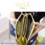 กระเป๋าสตางค์ผู้หญิง ทรงถุง กระเป๋าคลัทช์ สีชมพู รุ่น ALICE thumbnail 16