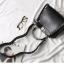 กระเป๋าหนังวัวแท้ Fendi Gray (21x17x12cm) thumbnail 7