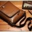 กระเป๋าหนังแท้ Teemzone Brown สำหรับคุณผู้ชาย thumbnail 1