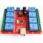 8 channel 12V relay module /computer USB control switch / free driver / PC Intelligent Controller thumbnail 1