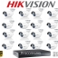 Hikvision (( Camera Set 16 )) HD720P (DS-2CE16C0T-IR x 16, DS-7216HGHI-E1 x 1) thumbnail 1