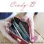 กระเป๋าสตางค์ผู้หญิง ทรงถุง สีแดง รุ่น CINDY-B thumbnail 4