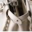 กระเป๋าหนังวัวแท้ Fendi Gray (21x17x12cm) thumbnail 17