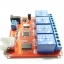 4-way control switch 12V computer USB drive free relay module PC Intelligent Controller thumbnail 2