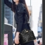 กระเป๋าหนังแกะ Miss cozy black thumbnail 8