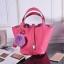 กระเป๋าหนังวัว รุ่น Picotin 18' Cherry pink thumbnail 1