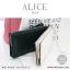 กระเป๋าสตางค์ผู้หญิง ทรงถุง กระเป๋าคลัทช์ สีชมพู รุ่น ALICE thumbnail 9