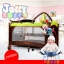 B10102 เตียงนอนเด็ก แบบน่ารัก สินค้าใหม่นำเข้าพร้อมชั้นวางที่เปลี่ยนผ้าอ้อม (A1สีฟ้า) thumbnail 14