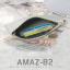 กระเป๋าสตางค์ผู้หญิง ทรงถุง รุ่น AMAZ-B2-L สีชมพูเข้ม thumbnail 6