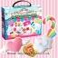 พร้อมส่ง ** Kutsuwa Fuwa Fuwa Mousse Clay Making Kit [Lollipop Candy Shop] เซ็ตตกแต่งดินญี่ปุ่นรูปอมยิ้ม เปเปอร์เคลของญี่ปุ่นจะนุ่มนิ่มน่าสัมผัส เล่นแล้วเพลินมากๆ ค่ะ thumbnail 1