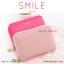 กระเป๋าใส่บัตร เอนกประสงค์ รุ่น SMILE สีเทา thumbnail 21