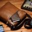 กระเป๋าหนังแท้ Teemzone Brown สำหรับคุณผู้ชาย thumbnail 3