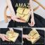 กระเป๋าสตางค์ผู้หญิง ขนาดกลาง รุ่น AMAZ สีม่วง thumbnail 29