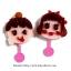 พร้อมส่ง ** Cute Face Gummy ชุดทำกัมมี่รูปหน้าคน (ใช้ไมโครเวฟ) (กินได้) (ราคาที่แสดงเป็นราคา 1 ชิ้นนะคะ สามารถเลือกแบบได้ที่ด้านใน) thumbnail 2
