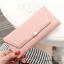กระเป๋าสตางค์ผู้หญิง รุ่น LETTER สีชมพู thumbnail 8