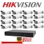 Hikvision ชุดกล้องวงจรปิด Set 16 DS-2CE16D0T-IT3 x 16 DS-7216HQHI-F2/N x 1 thumbnail 1