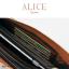 กระเป๋าสตางค์ผู้หญิง ทรงถุง กระเป๋าคลัทช์ สีชมพู รุ่น ALICE thumbnail 5