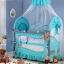 TB 12101 เตียงนอนเด็ก ยุโรปเปี้ยนสไตล์ สีฟ้า TB1 thumbnail 4