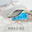 กระเป๋าสตางค์ผู้หญิง ทรงถุง รุ่น AMAZ-B2-L สีชมพูเข้ม thumbnail 18