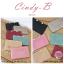 กระเป๋าสตางค์ผู้หญิง ทรงถุง สีแดง รุ่น CINDY-B thumbnail 18