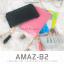 กระเป๋าสตางค์ผู้หญิง ทรงถุง รุ่น AMAZ-B2-L สีชมพูเข้ม thumbnail 2