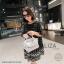 กระเป๋าสะพายข้าง รุ่น LIZA สีเงิน thumbnail 1