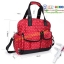 TP12058 กระเป๋าเก็บสัมภาระคุณแม่ ใช้ได้ทั้งเป็นเเบบหิ้วและสะพายเป้ ลายจุด สีแดง thumbnail 7
