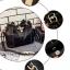 กระเป๋าหนังวัว ทรงขนมจีบ (Black) thumbnail 10