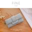 กระเป๋าสตางค์ผู้หญิง FINE สีเขียว thumbnail 4