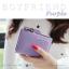 กระเป๋าสตางค์ผู้หญิง BOYFRIEND-Blue-Red thumbnail 8
