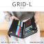กระเป๋าสตางค์ผู้หญิง รุ่น GRID-L สีชมพูเข้ม ใบยาว สองซิป thumbnail 22